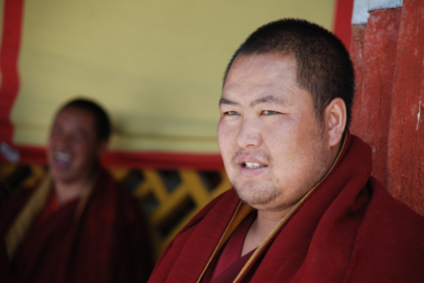Chubby Monk, Tahsilumpo Monastery