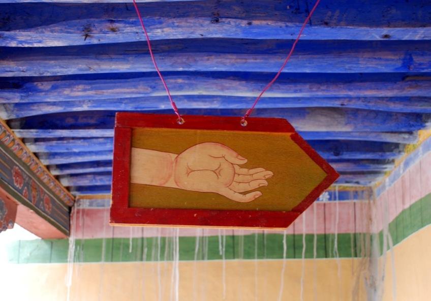 Hand Sign, Jokhang Temple