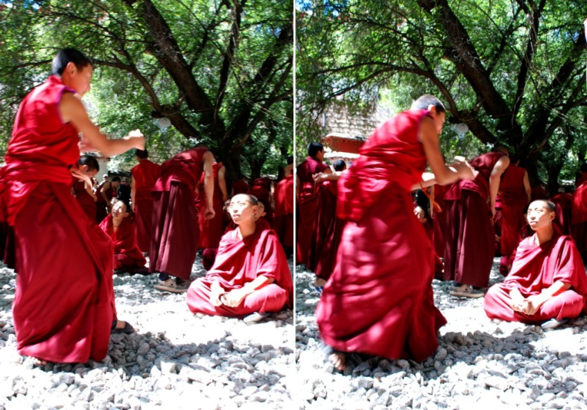 Debating Courtyard, Sera Monastery