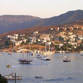 View across the bay at Turkbuku